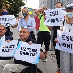 """Kandidatė į Seimą Monika Ošmianskienė: """"VRK turi ne apgailestauti, o prisiimti atsakomybę"""""""