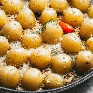 Savaitgalio pietų stalui – ypatingo skonio patiekalai iš bulvių