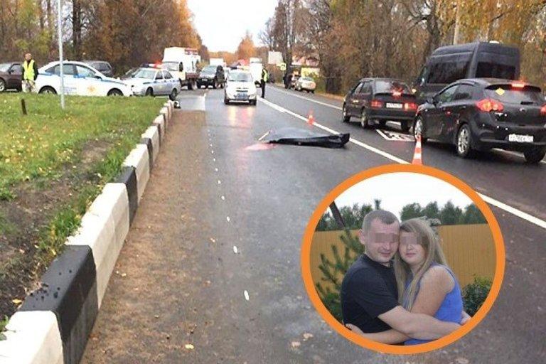 Baikeris žuvo sutikęs padėti policijai: liko nėščia žmona ir mažametis sūnus (nuotr. VK.com)