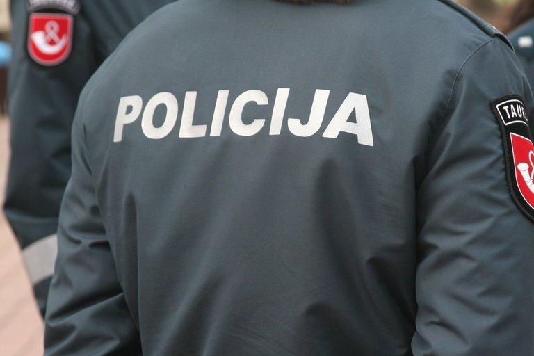 Policija (nuotr. Organizatorių)