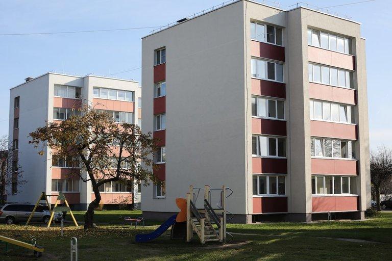 Renovuoti daugiabučiai Ignalinoje