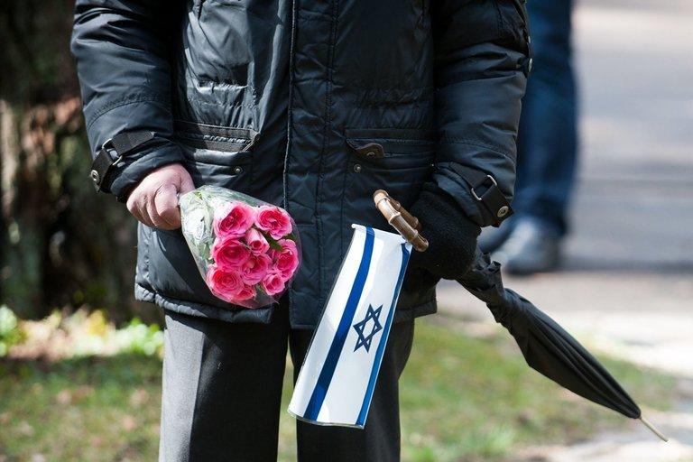 Žydų genocido aukų diena (nuotr. Fotodiena.lt)