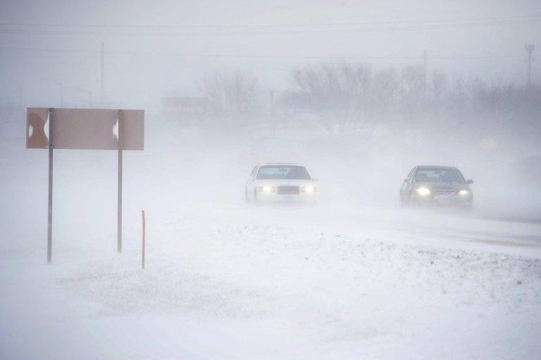 JAV smarkios audros paralyžiuoja Padėkos dienos keliones (nuotr. Scanpix)