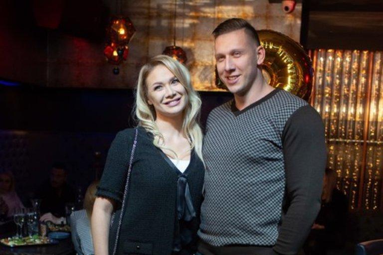 Natalija Bunkė su mylimuoju Edgaru (Greta Skaraitienė/Fotobankas)