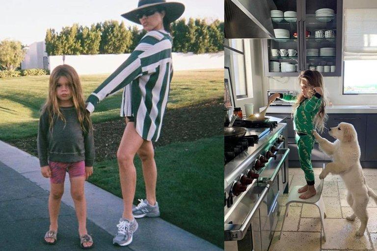 Kourtney Kardashian su sūnumi Reignu Disicku (nuotr. Instagram)