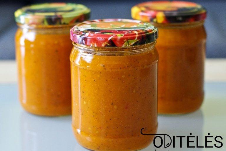 Pomidorų padažas (Nuotr. Oditėlės blogas)