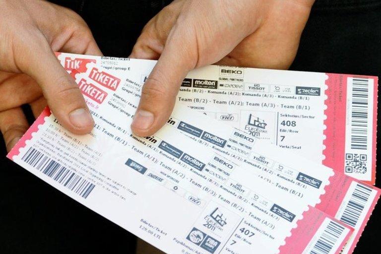 """""""TIKETA"""" bilietai (nuotr. Fotodiena/Robertas Dačkus)"""