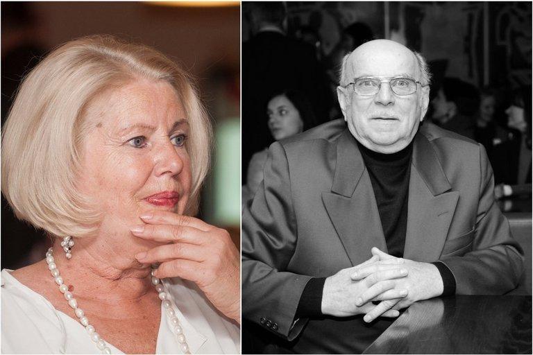V. Mainelytė prisiminė anapilin iškeliavusį P. Dimšą  (nuotr. Fotodiena.lt)