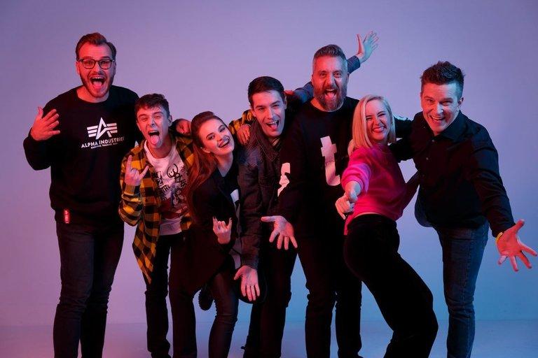 """""""Power Hit Radio"""" komanda (nuotr. Organizatorių)"""