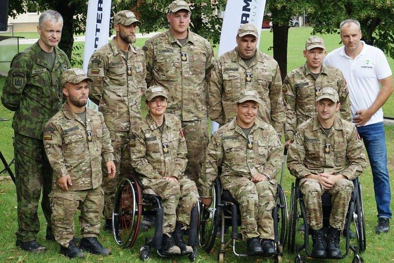 """""""Ypatingo būrio"""" komanda. Aurelijos Babinskienės nuotr."""