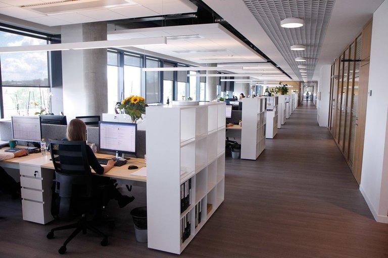 """Prekybos tinklo """"Maxima"""" naujo biuro atidarymas (nuotr. Tv3.lt/Ruslano Kondratjevo)"""