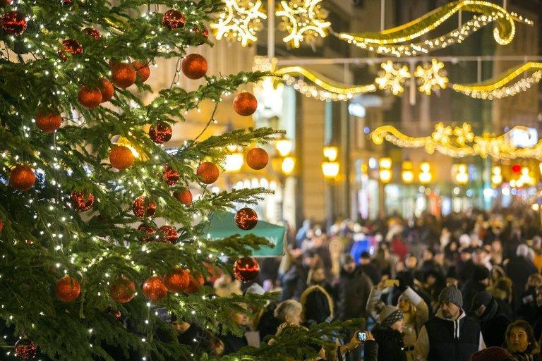 Budapešto kalėdinė mugė (nuotr. SCANPIX)