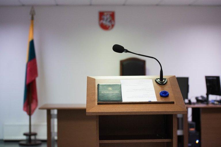 Teismo salė (nuotr. Fotodiena/Justino Auškelio)
