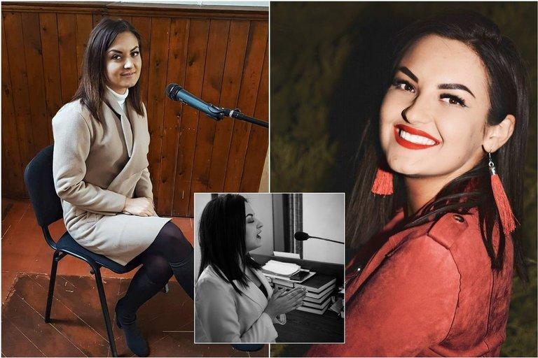 22-iejų vilkaviškietė Gabija savo pomėgį dainuoti pavertė darbu: neatsigina užsakymų (nuotr. asm. archyvo)
