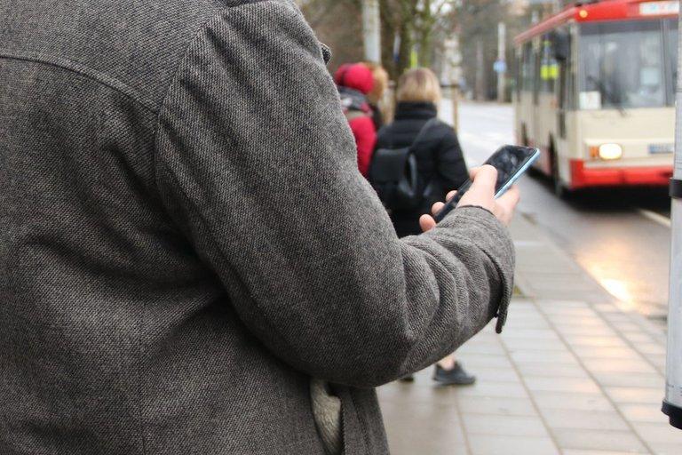 """Sausio 15-ąją """"Susisiekimo paslaugos"""" pranešė, kad Vilniuje startuoja mobilioji programa """"Transporto balsas"""". Sigitos Inčiūrienės nuotr."""