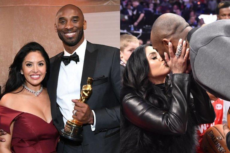 Kobe Bryantas ir žmona Vanessa (nuotr. SCANPIX)