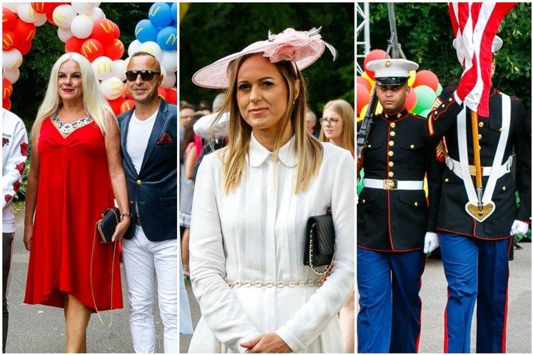 Vilniuje švenčiama JAV Nepriklausomybės diena: susirinko elitas