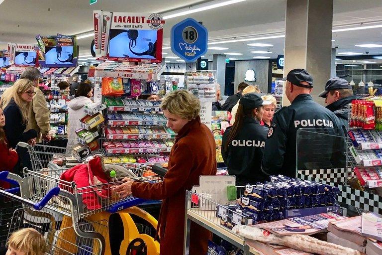 parduotuvės kasos, asociatyvi nuotr. (nuotr. Eimanto Genio)