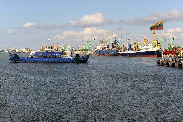 Klaipėdos jūrų uostas  (nuotr. Alfredo Pliadžio)