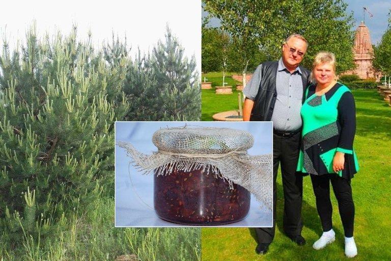 Rita vienintelė Lietuvoje gamina uogienę iš kankorėžių (nuotr. asm. archyvo)