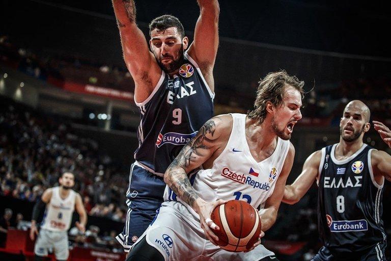 Rungtynių Graikija-Čekija akimirka (nuotr. FIBA)