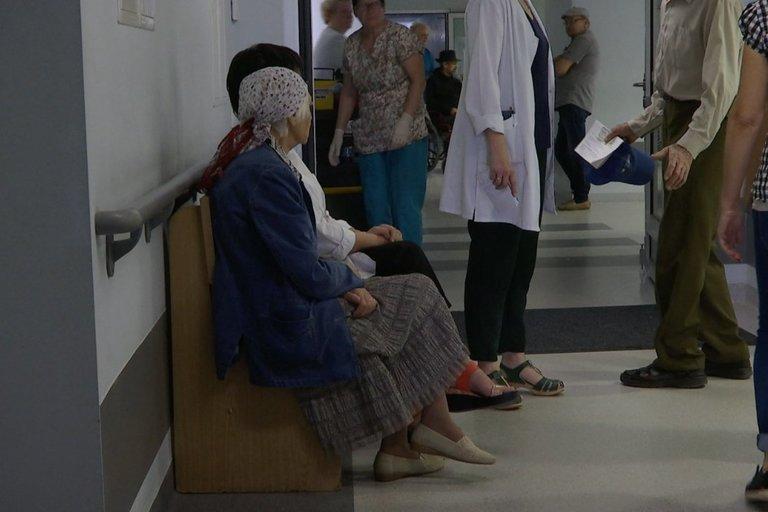 Eilės ligoninėje (Stopkadras)