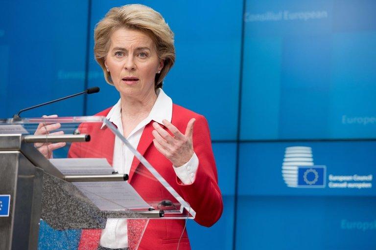 EK pirmininkė Ursula von der Leyen (nuotr. SCANPIX)