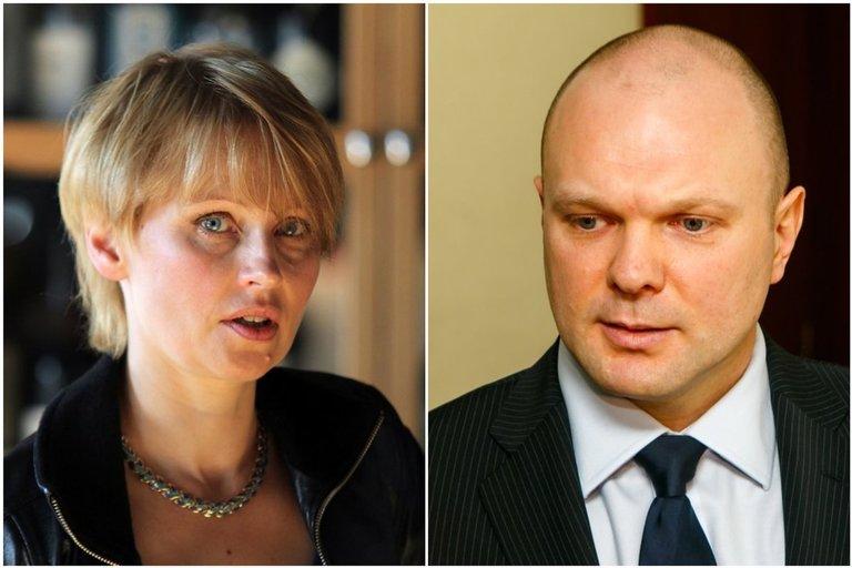 Rūta Janutienė ir Kristupas Krivickas (nuotr. tv3.lt)