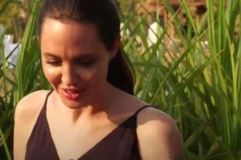 Angelina Jolie vėl paliko pasaulį be žado: tai ne šlykštu, o normalu (nuotr. youtube.com/BBC)