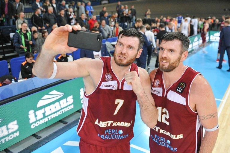 Darjušas ir Kšištofas Lavrinovičiai (nuotr. Fotodiena.lt/Roko Lukoševičiaus)