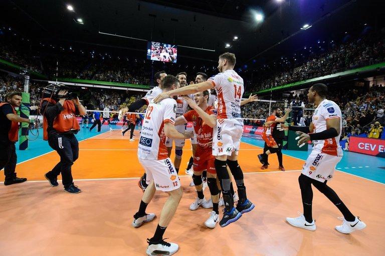 Italai triumfavo finale (nuotr. CEV)