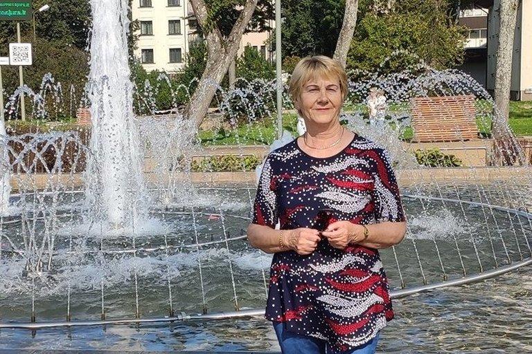 Vilkaviškio sutrikusios psichikos žmonių globos bendrijos vadovė Bronė Vaišnienė. Asmeninjo archyvo nuotr.