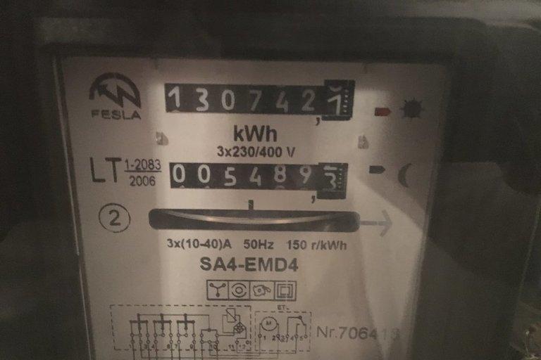 Elektros skaitiklis (nuotr. tv3.lt)