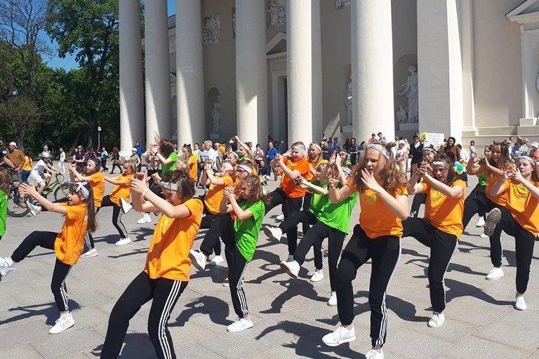 Sekmadienį Vilnius klegėjo  šeimų šventės garsais (nuotr. Organizatorių)