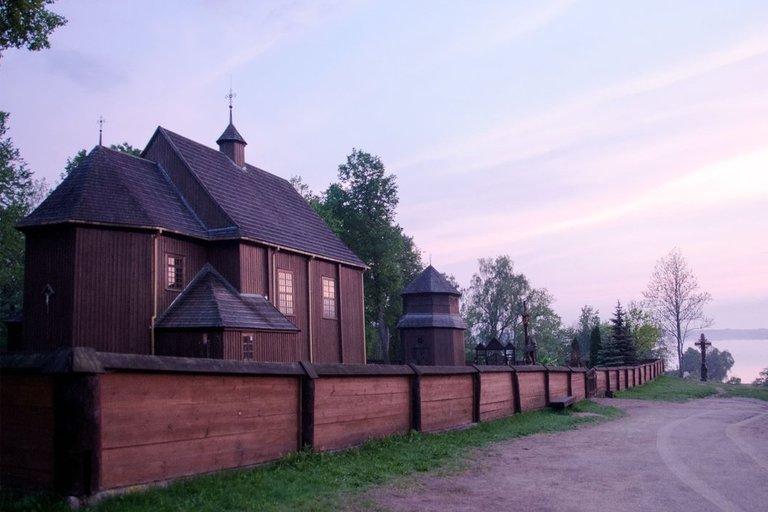 Palūšės bažnyčia (nuotr. Birutė Simanavičienė)
