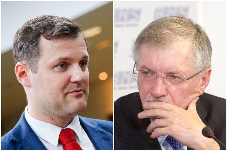 Gintautas Paluckas. Gediminas Kirkilas. (tv3.lt nuotr.)