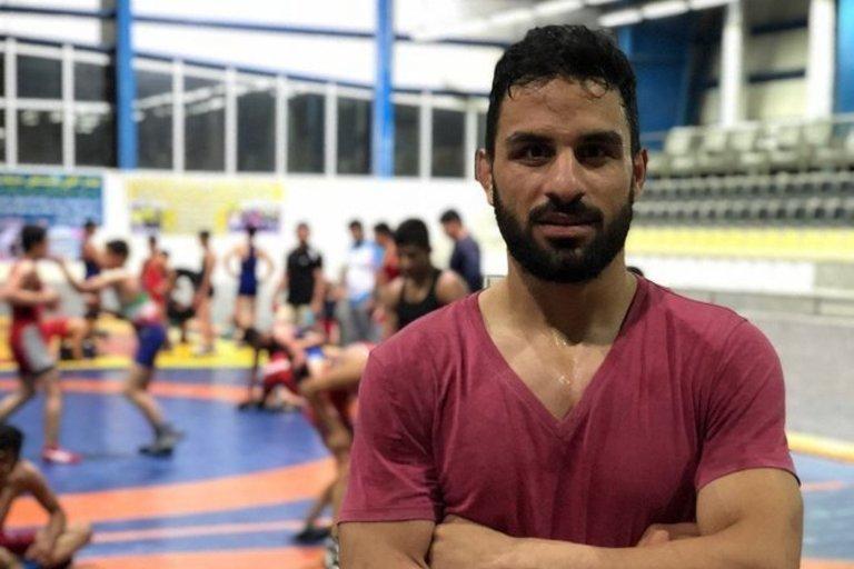 Imtynių čempionas Irane nubaustas nesuvokiama bauda (nuotr. Twitter)