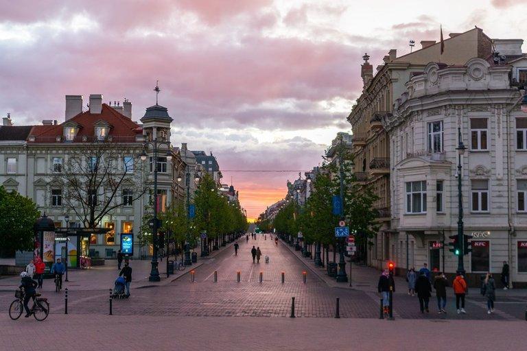 Vilniuje (nuotr. Fotodiena/Justinas Auškelis)