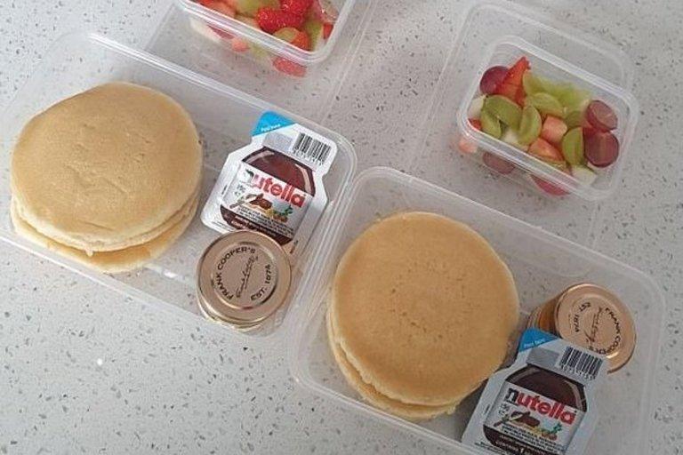 Internautai sukritikavo mamos paruoštus pusryčius vaikams  (nuotr. facebook.com)