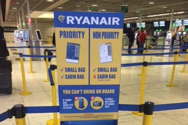 Ryanair bagažo pasikeitimai (nuotr. bendrovės)