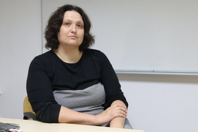 """VšĮ """"Psichikos sveikatos perspektyvos"""" direktorė, psichologė Karilė Levickaitė. Sigitos Inčiūrienės nuotr."""