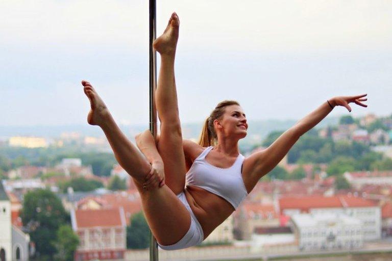 Kaune gyvenanti Eglina dega didžiulę aistra šokiams  (nuotr. asm. archyvo)