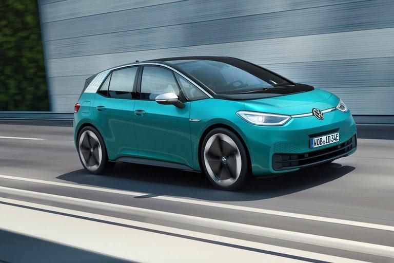 Volkswagen ID3 (gamintojo nuotr.)