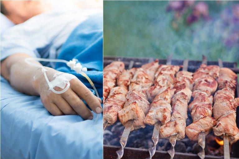 Medikai perspėja, kaip tinkamai atpažinti užspringimą maistu (tv3.lt fotomontažas)