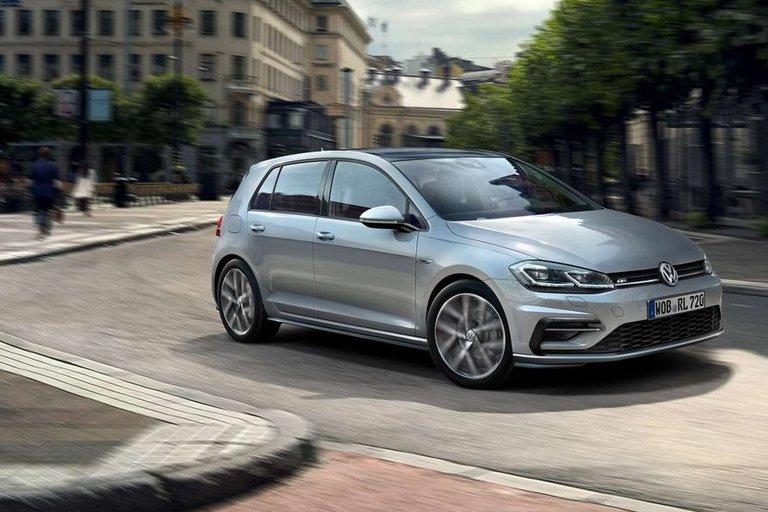 VW Golf (gamintojo nuotr.)