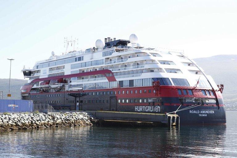 Norvegijos kruiziniame laive kilo koronaviruso protrūkis (nuotr. SCANPIX)