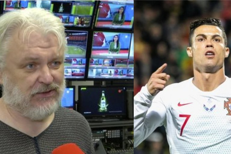 N. Kesminas įvertino Ronaldo vakarą Vilniuje (tv3.lt fotomontažas)
