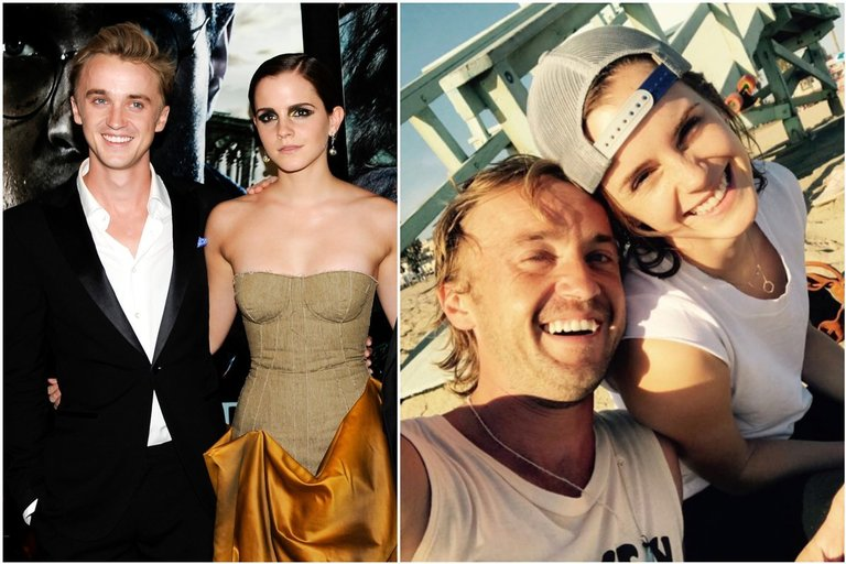 Tom Felton ir Emma Watson (tv3.lt fotomontažas)