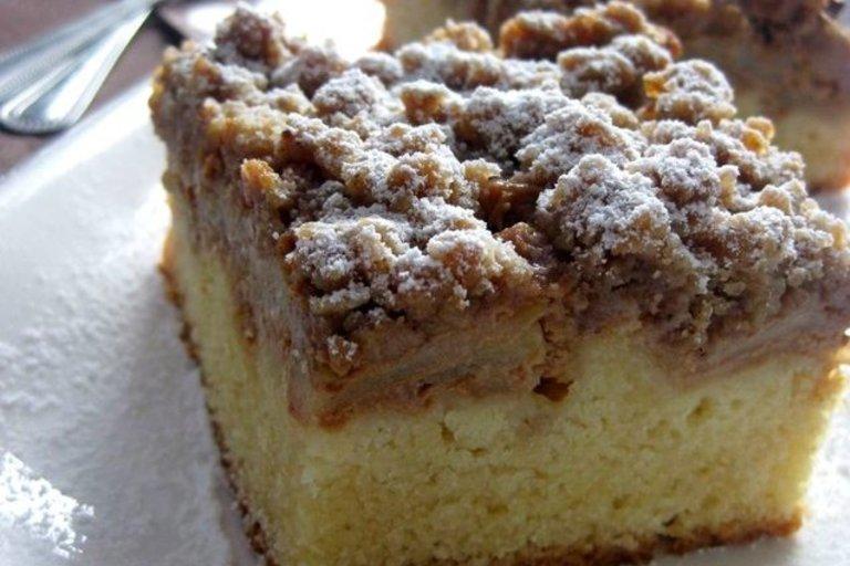 Karamelinis obuolių pyragas (Nuotr. Jurgittos virtuvė)