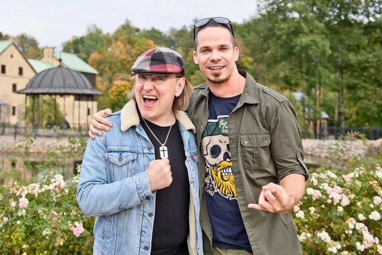 Povilas Meškėla ir Jeronimas Milius (tomasfoto.lt nuotr.) (nuotr. Organizatorių)